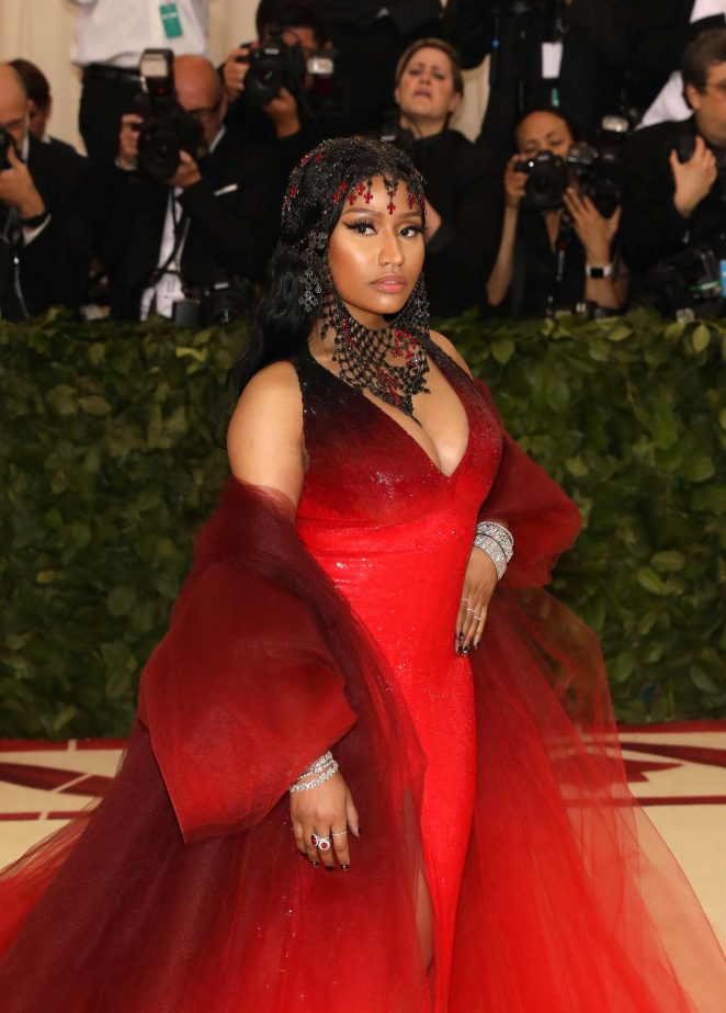 Nicki Minaj - 2018 MET Gala in NYC