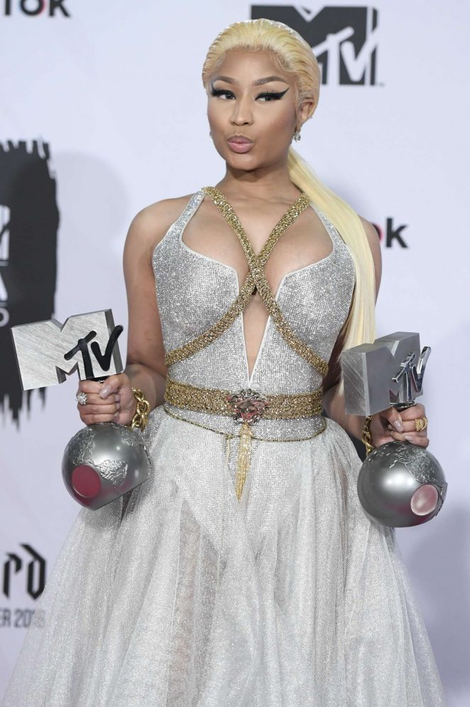 Nicki Minaj - 2018 MTV Europe Music Awards in Bilbao