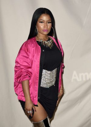 Nicki Minaj at H&M Studio Show in Paris