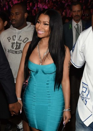 Nicki Minaj - At the Floyd Mayweather vs. Manny Pacquiao Fight