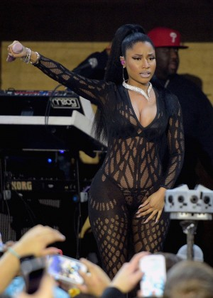 Nicki Minaj - Bud Light House of Whatever during Super Bowl Weekend in Arizona
