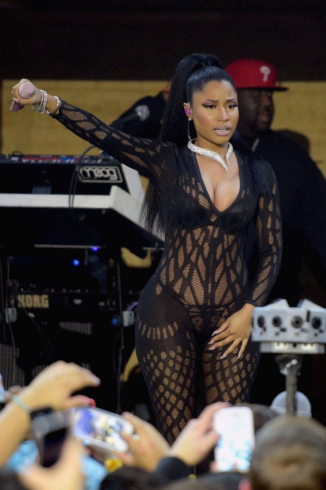 Nicki Minaj – Bud Light House of Whatever during Super Bowl Weekend in Arizona