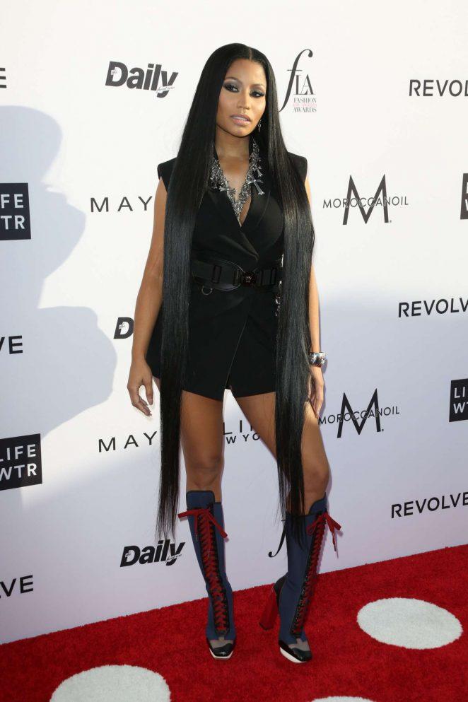 Nicki Minaj: Daily Front Rows 3rd Annual Fashion LA Awards -01