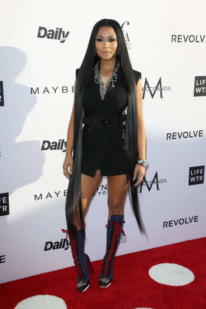 Nicki Minaj: Daily Front Rows 3rd Annual Fashion LA Awards -04