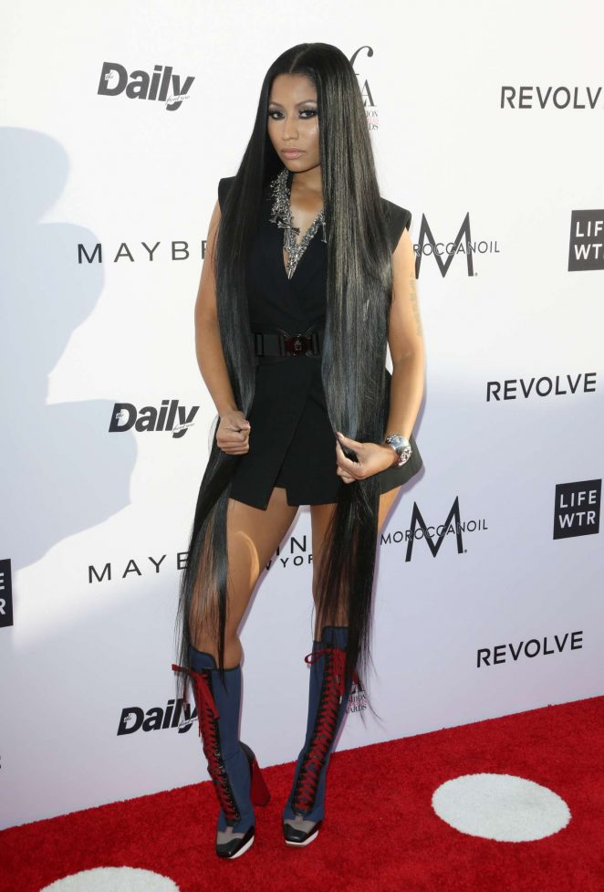 Nicki Minaj: Daily Front Rows 3rd Annual Fashion LA Awards -08