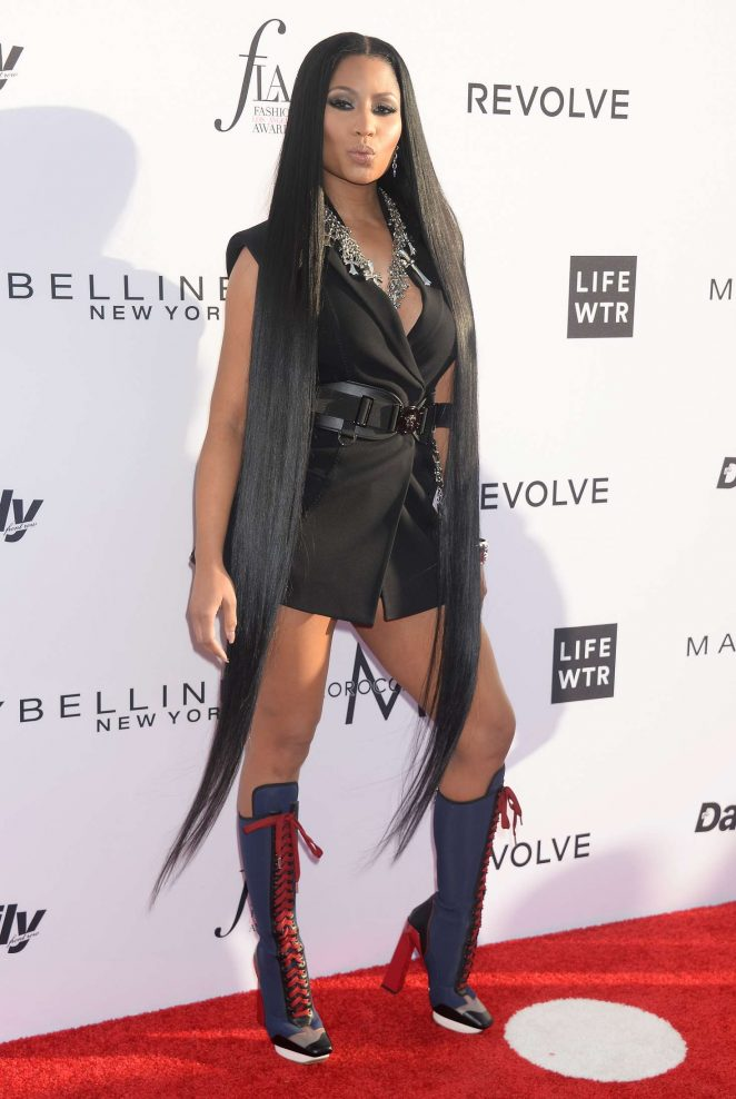 Nicki Minaj: Daily Front Rows 3rd Annual Fashion LA Awards -16