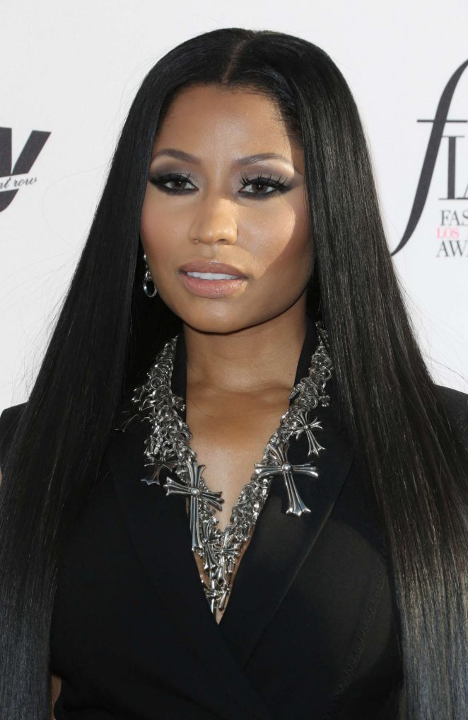 Nicki Minaj: Daily Front Rows 3rd Annual Fashion LA Awards -18