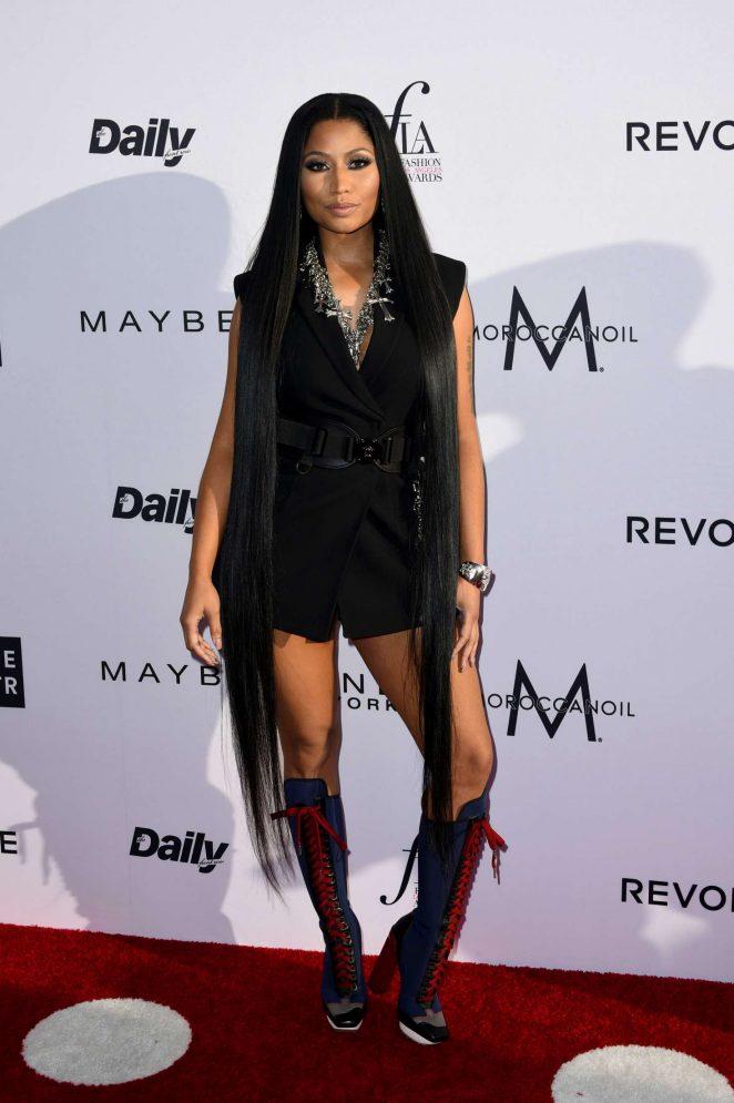 Nicki Minaj: Daily Front Rows 3rd Annual Fashion LA Awards -20