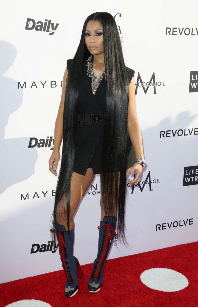 Nicki Minaj: Daily Front Rows 3rd Annual Fashion LA Awards -22