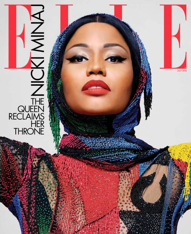 Nicki Minaj - Elle US Magazine (July 2018)