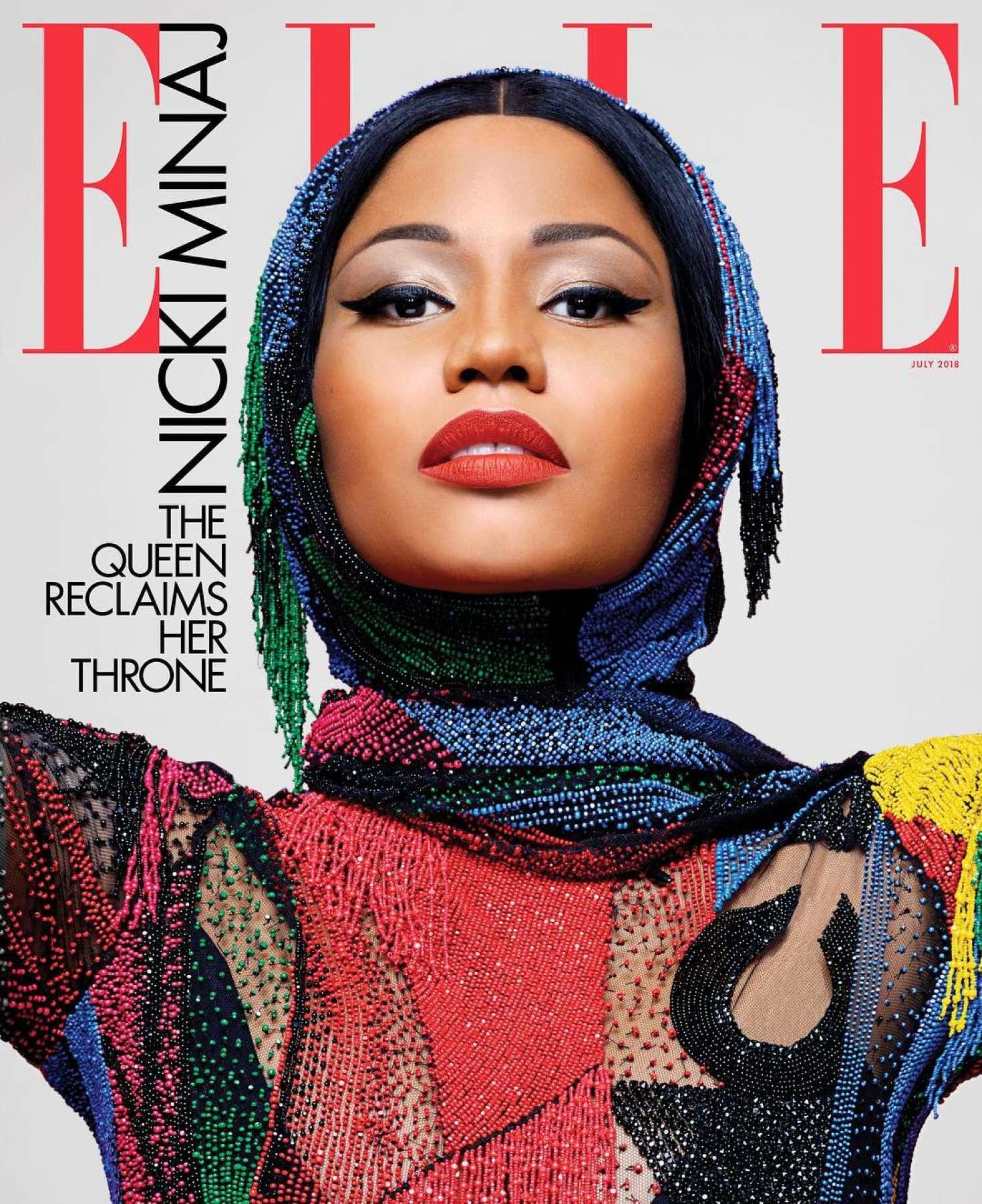 Nicki Minaj - Elle US Magazine (July 2018)