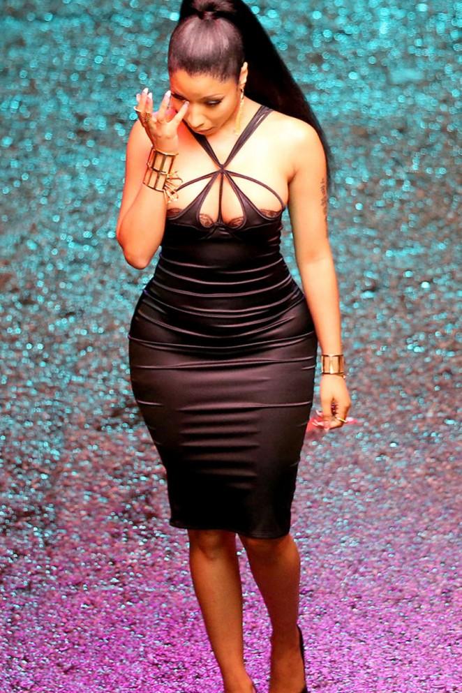 Nicki Minaj - Filming a New Music Video in Los Angeles