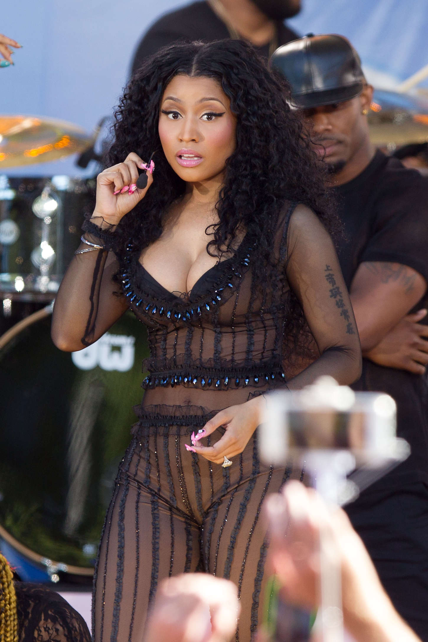 Good Morning America Performances : Nicki minaj good morning america summer concert series