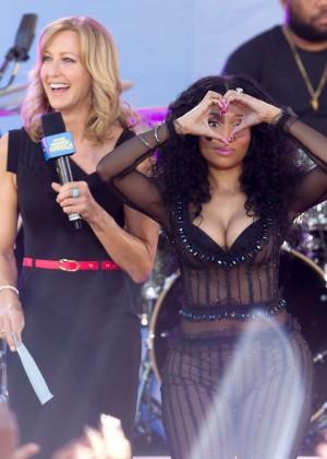 Nicki Minaj: Good Morning America Summer Concert Series ...