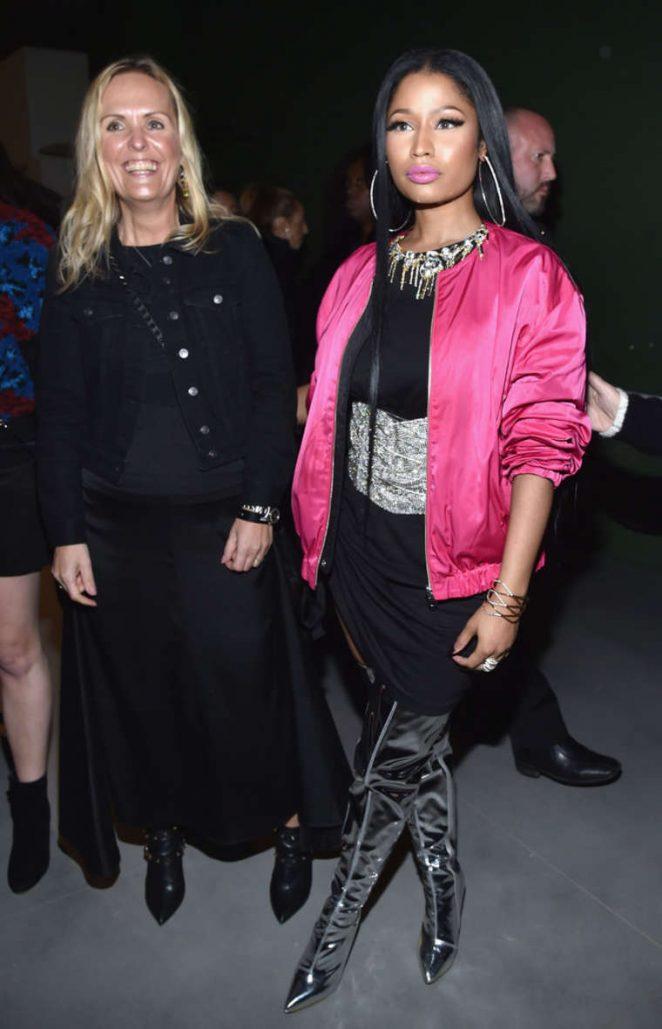 Nicki Minaj: H&M Studio SS 2017 Show at PFW -09 - GotCeleb