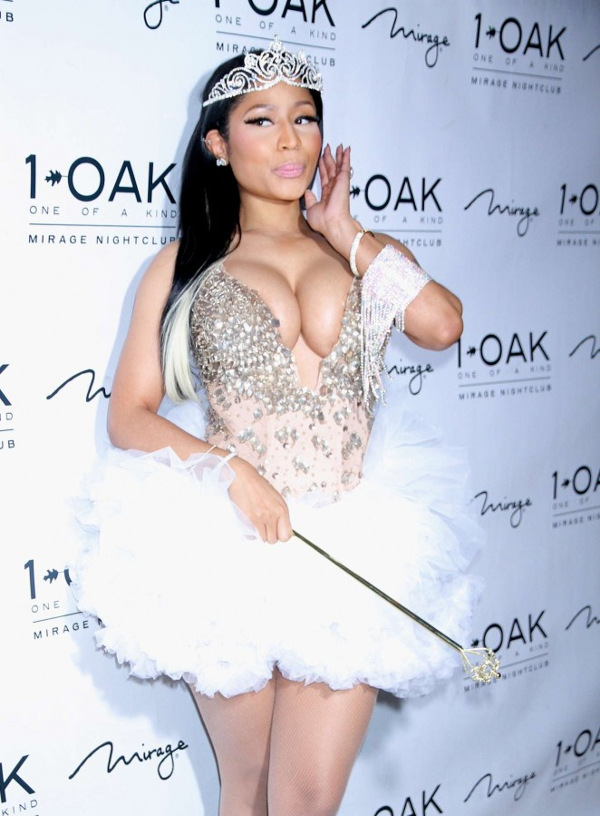 Nicki Minaj - Haunted Funhouse Halloween Party in Las Vegas