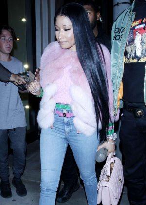 Nicki Minaj in Skinny Jeans out in West Hollywood