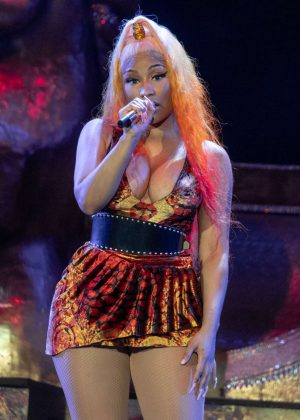 Nicki Minaj - Made In America Music Festival 2018 in Philadelphia
