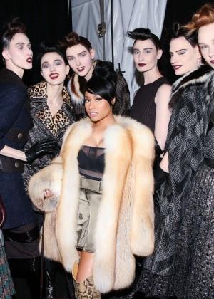 Nicki minaj – marc jacobs fashion show in new york