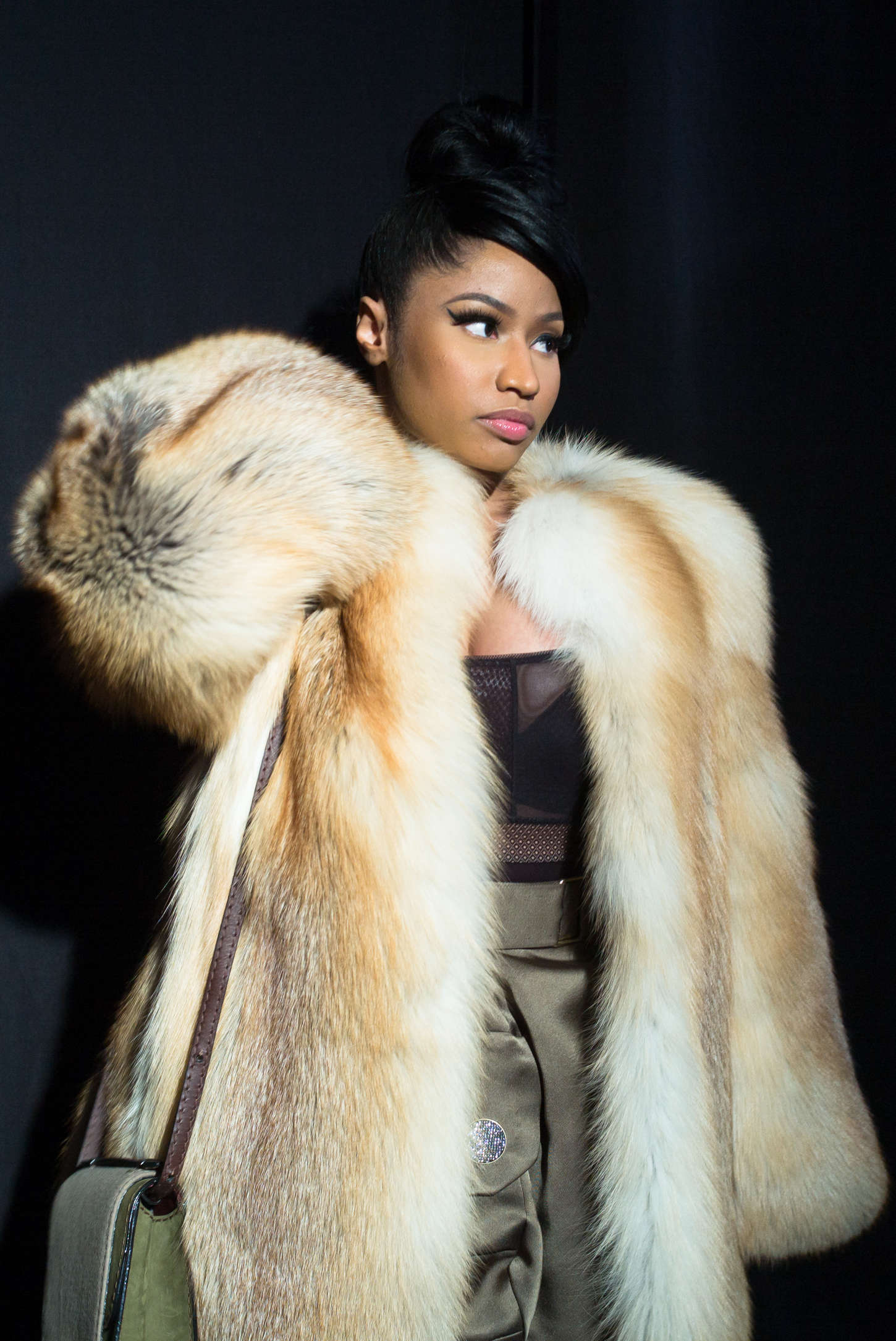 Nicki Minaj Marc Jacobs Fashion Show 2015 14 Gotceleb