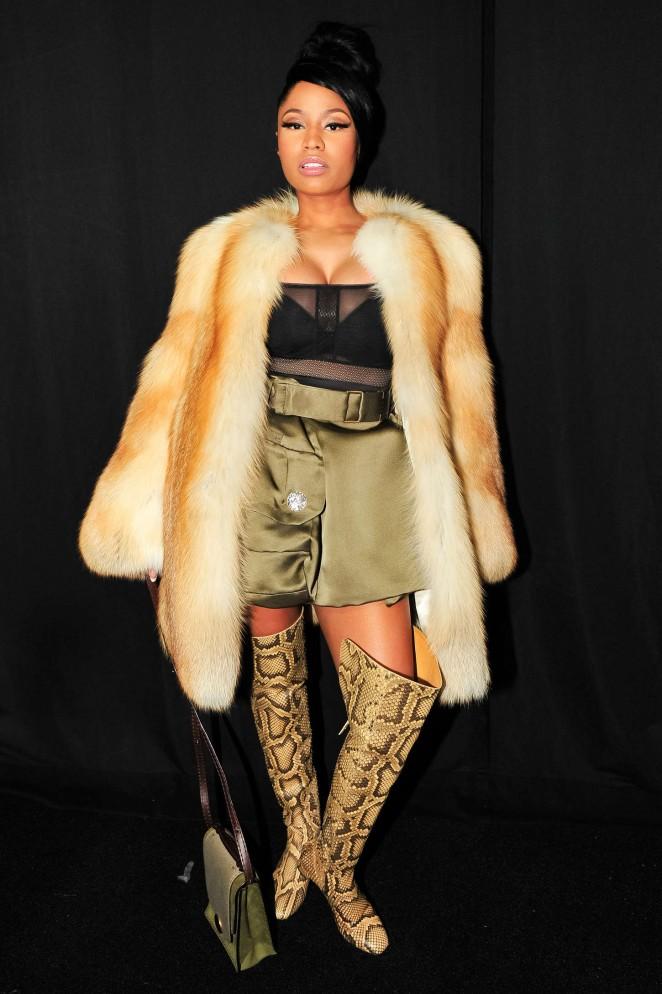 Nicki Minaj - Marc Jacobs Fashion Show 2015 in New York
