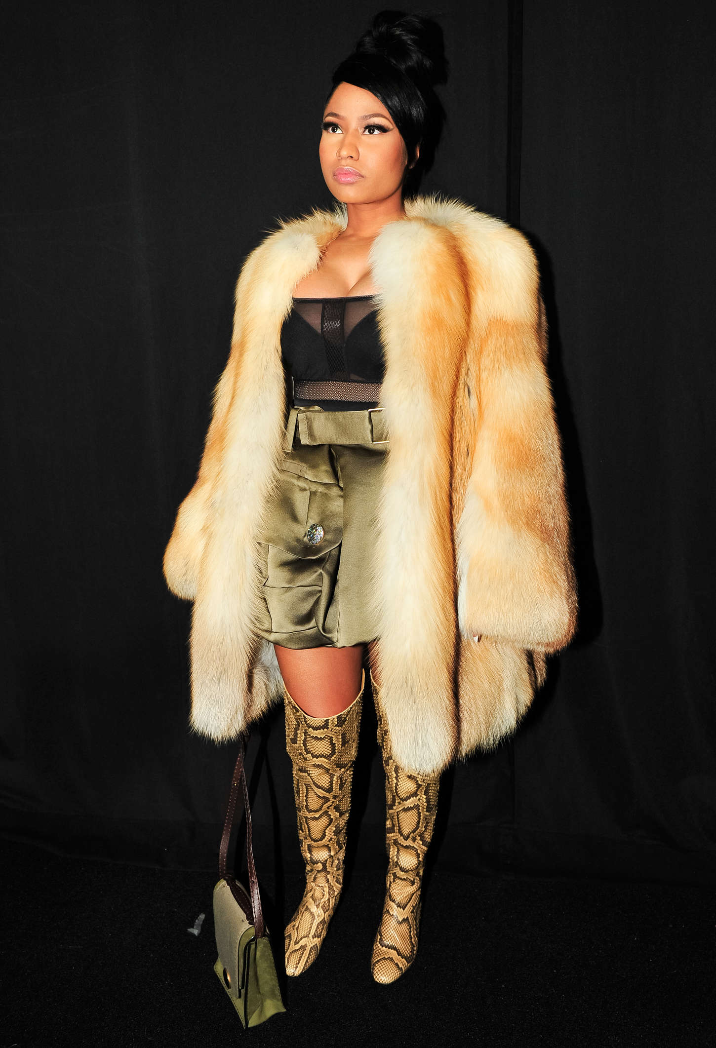 Nicki Minaj Marc Jacobs Fashion Show 2015 20 Gotceleb