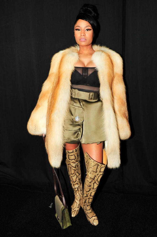Nicki Minaj Marc Jacobs Fashion Show 2015 22 Gotceleb