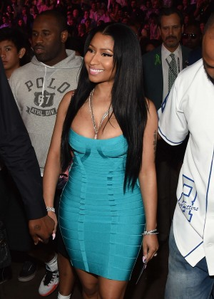 Nicki Minaj - Floyd Mayweather vs Manny Pacquiao Fight in Las Vegas