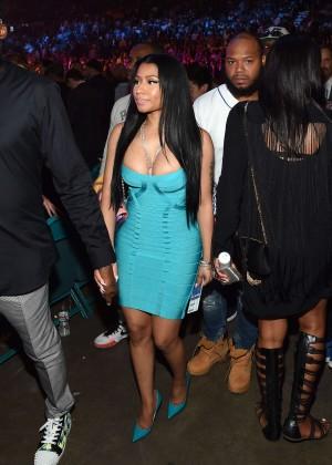 Nicki Minaj: At the Floyd Mayweather vs Manny Pacquiao Fight -03