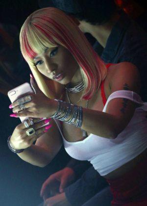 Nicki Minaj - Phillip Plein show Spring Summer 2018 at 2017 New York Fashion Week