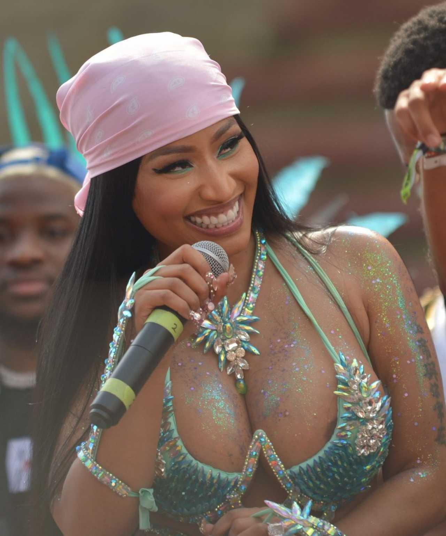 Nicki Minaj - Pictured during the Annual Mardi Gras Carnival