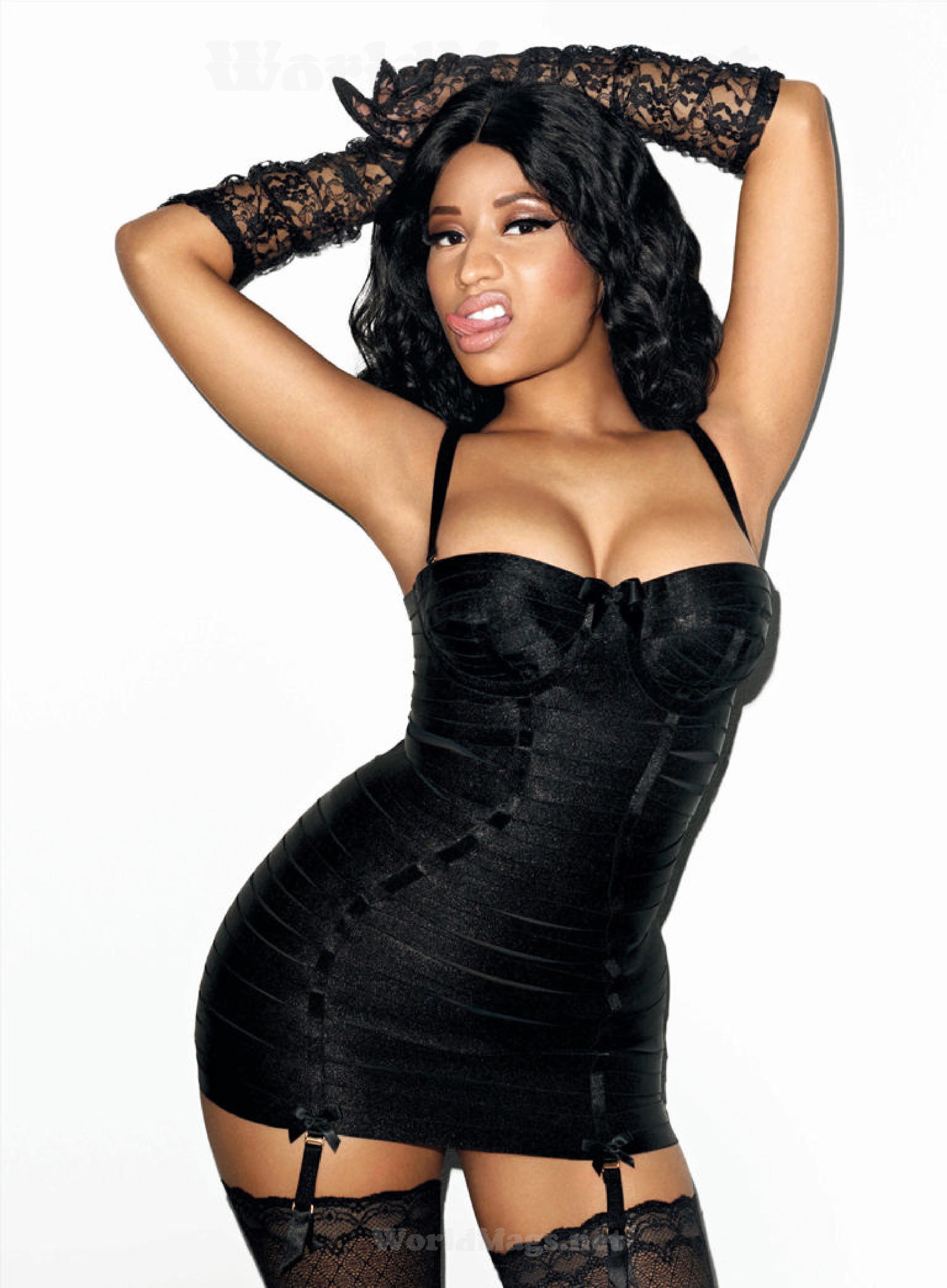Minaj rolling cover Nicki stone