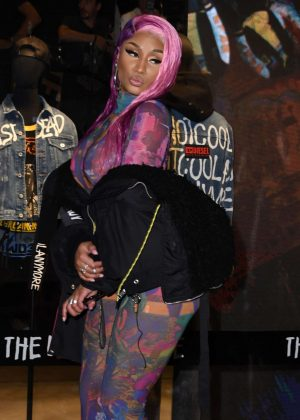 Nicki Minaj - Store Diesel Fashion Show in Milan
