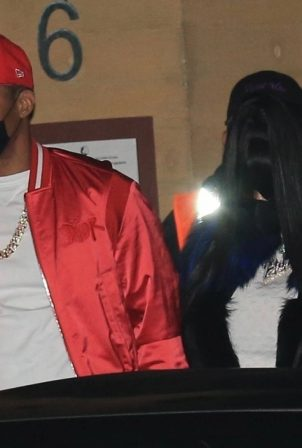 Nicki Minaj - With her husband Kenneth Petty out for a dinner date at Nobu in Malibu