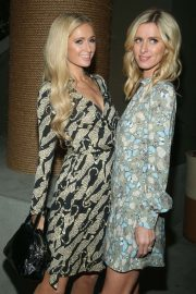 Nicky and Paris Hilton - 1 Hotel West Hollywood Opening in Los Angeles