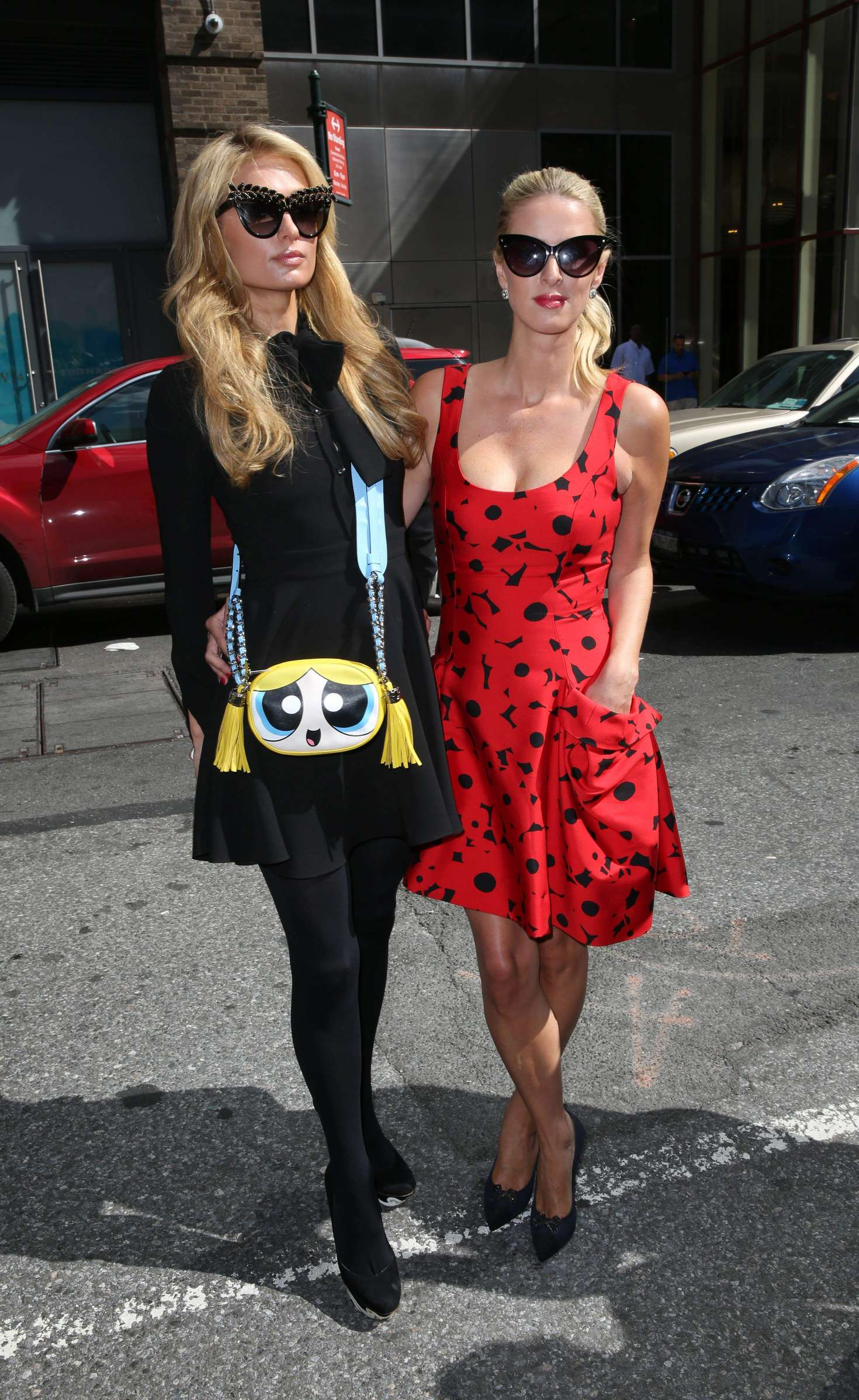 Nicky Hilton 2016 : Nicky and Paris Hilton: Arrives to Carolina Herrera SS17 Show -13