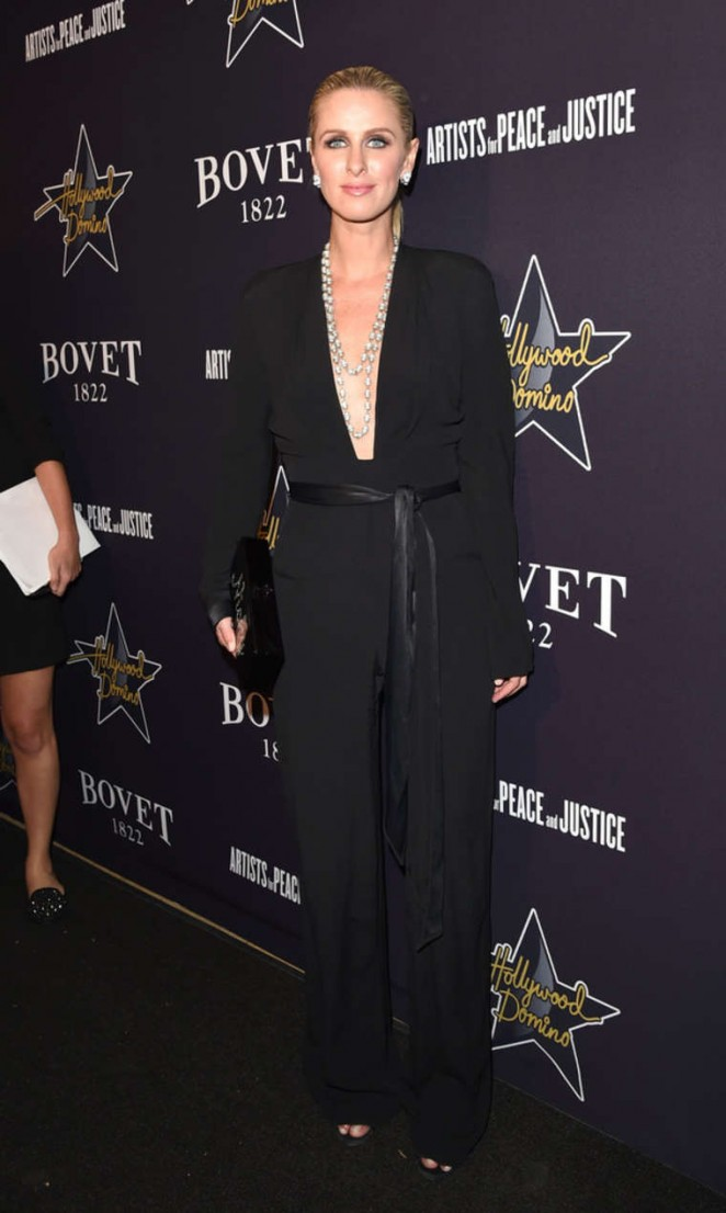 Nicky Hilton: 2015 Hollywood Domino Gala -03