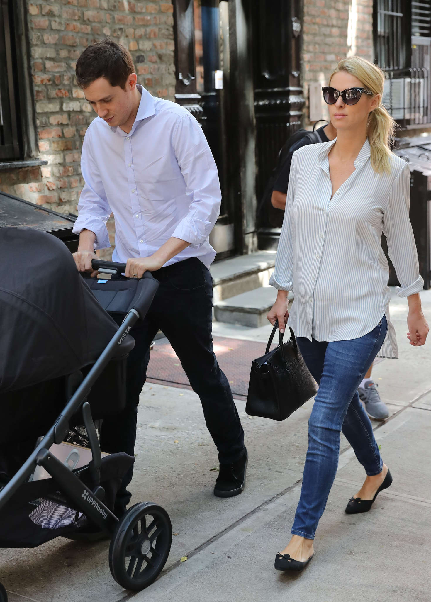 Nicky Hilton And Her Family Out In New York City