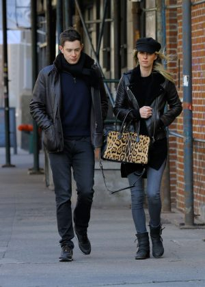 Nicky Hilton and her husband James Rothschild - Out in New York City