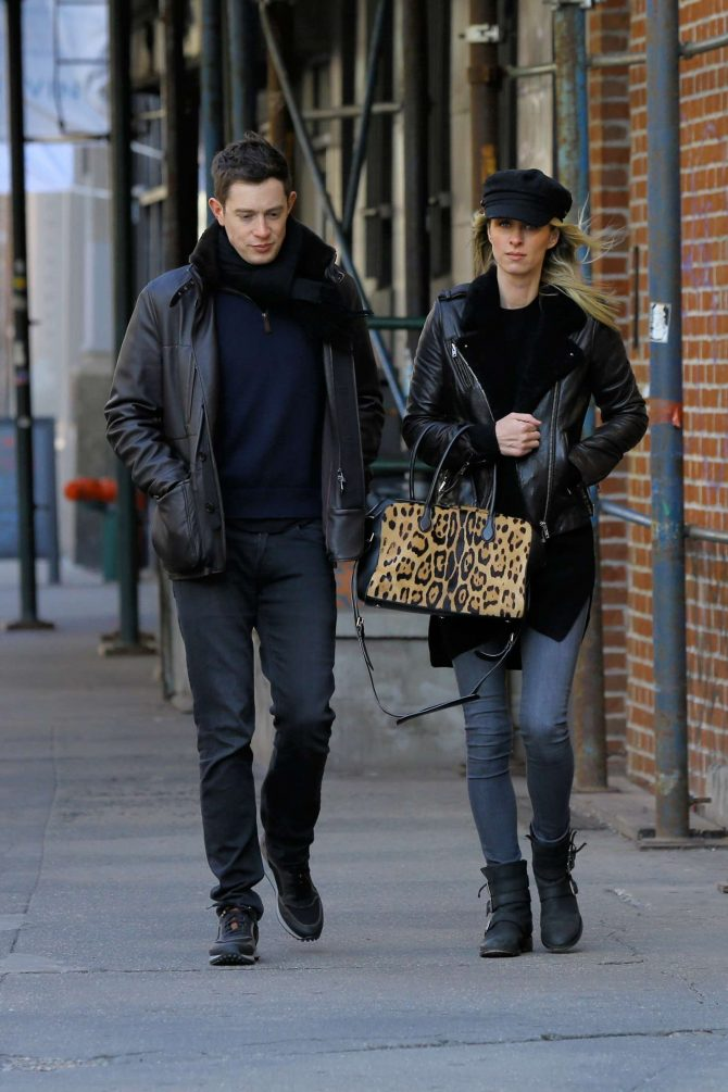 Nicky Hilton and her husband James Rothschild – Out in New York City