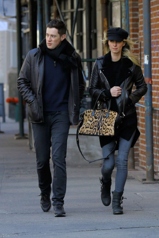 Nicky Hilton and her husband James Rothschild: Out in New York City -09