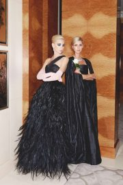 Nicky Hilton and Sabine Getty - Tatler UK Magazine (December 2019)