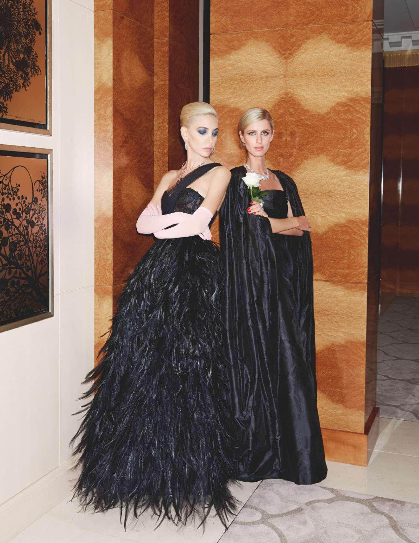 Nicky Hilton and Sabine Getty - Tatler UK Magazine (December 2019)