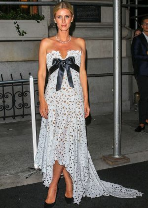 Nicky Hilton - Arrives at Harper's Bazaar ICONS Party in New York