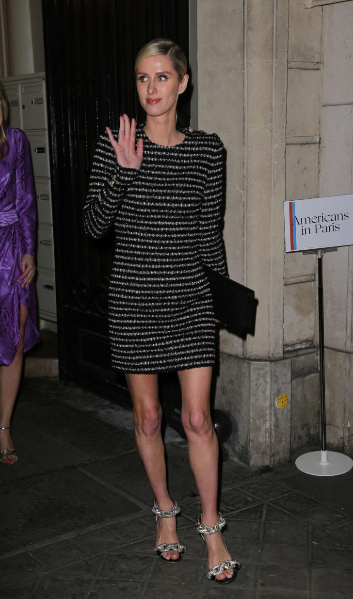 Nicky Hilton - Arriving at the Vogue Party in Paris