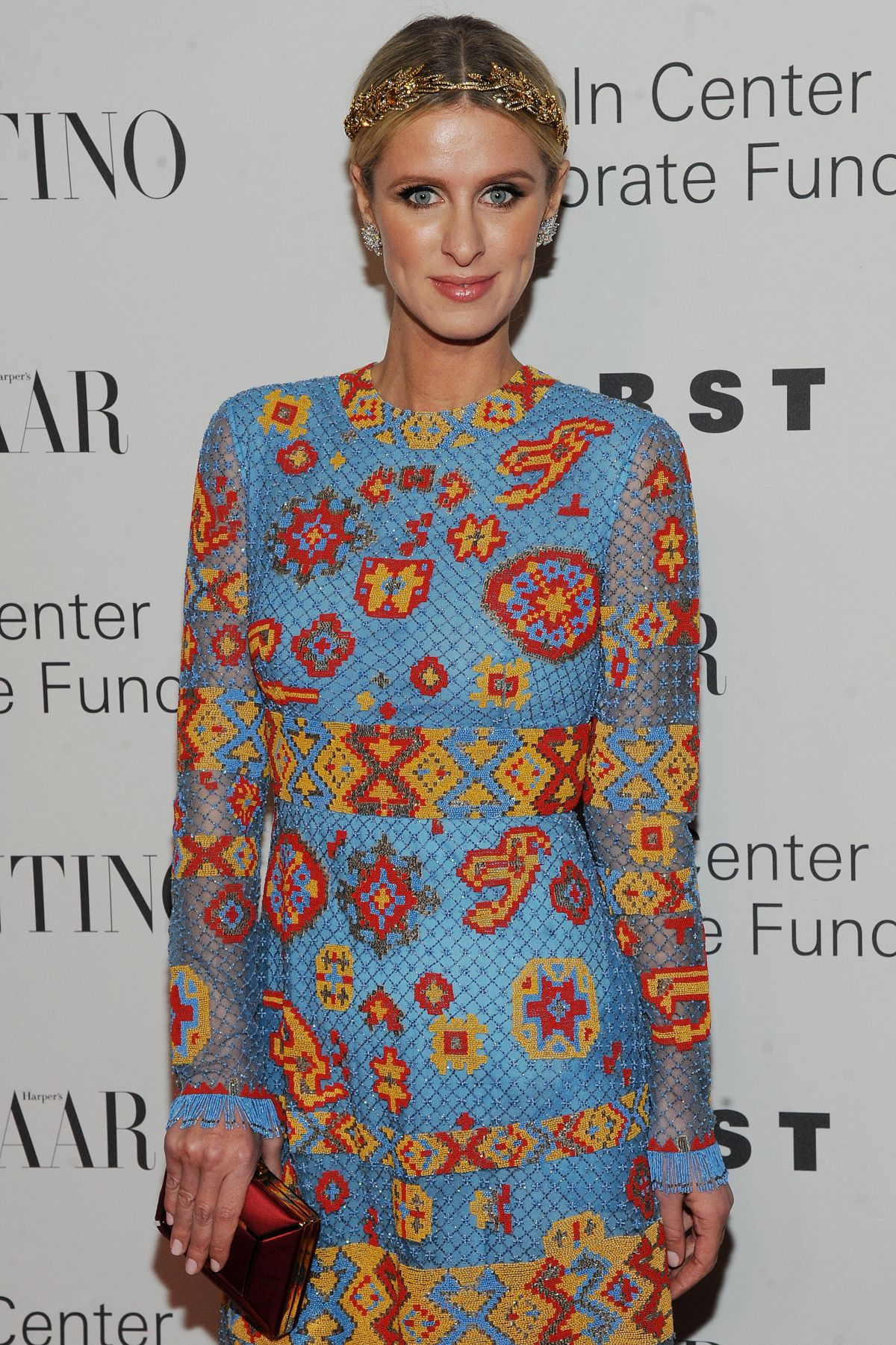 Nicky Hilton At An Evening Honoring Valentino Gala In New York