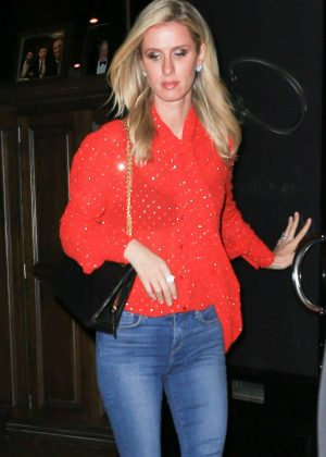 Nicky Hilton at Craig's in West Hollywood