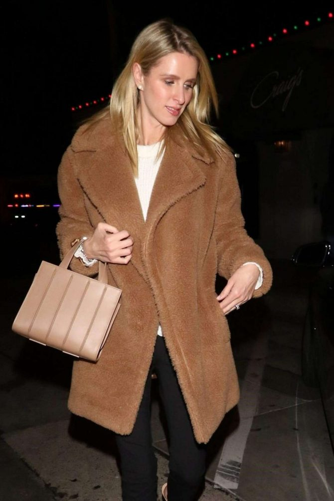 Nicky Hilton at Craig's Restaurant in West Hollywood