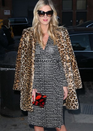 Nicky Hilton at Diane Von Furstenberg Fashion Show in New York