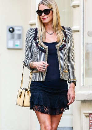 Nicky Hilton at the MCM Store in SoHo